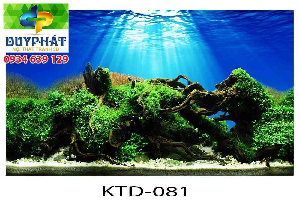 Tranh hồ cá 3d