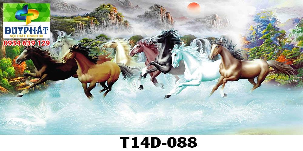 tranh ho ca tranh 3d duy phat com 789 - Tranh mã đáo thành công trong phong thủy