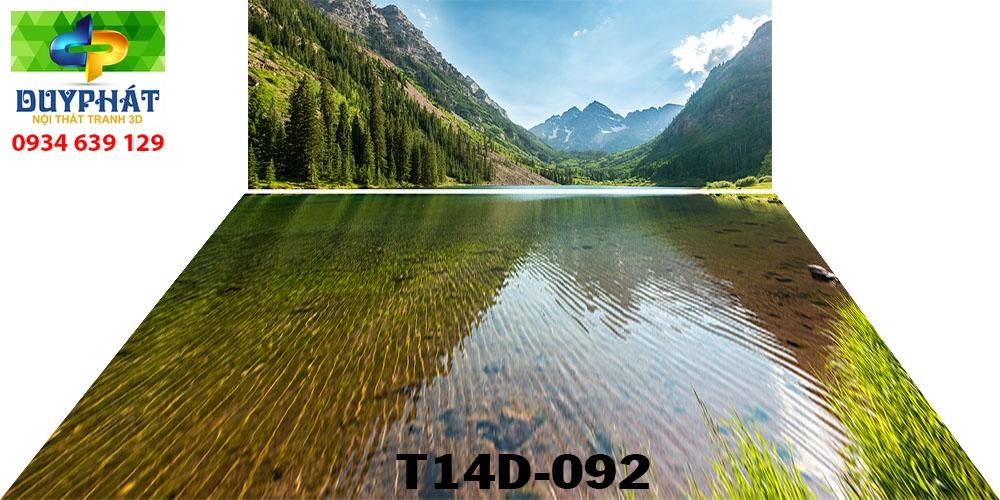 Tranh hồ cá THC803 đẹp cho nhà bạn
