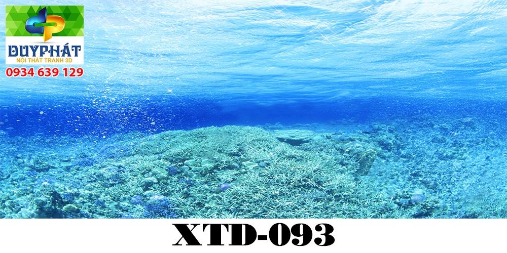Tranh hồ cá THC805 đẹp cho nhà bạn