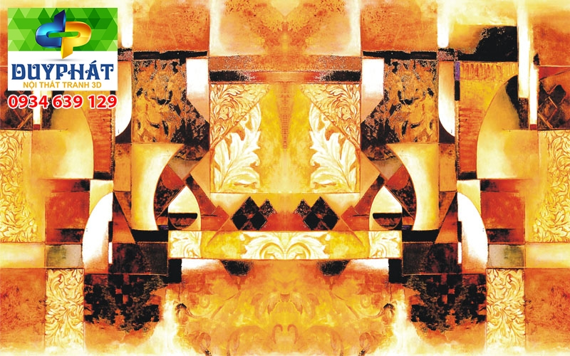 Tranh kính nghệ thuật TKNT073 ấn tượng