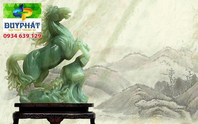 Tranh mã đáo thành công TMĐTC008 của tranh 3D Duy Phát