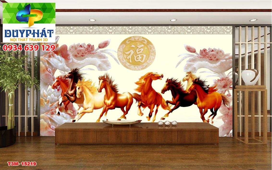 Tranh mã đáo thành công TMĐTC240 của tranh 3D Duy Phát