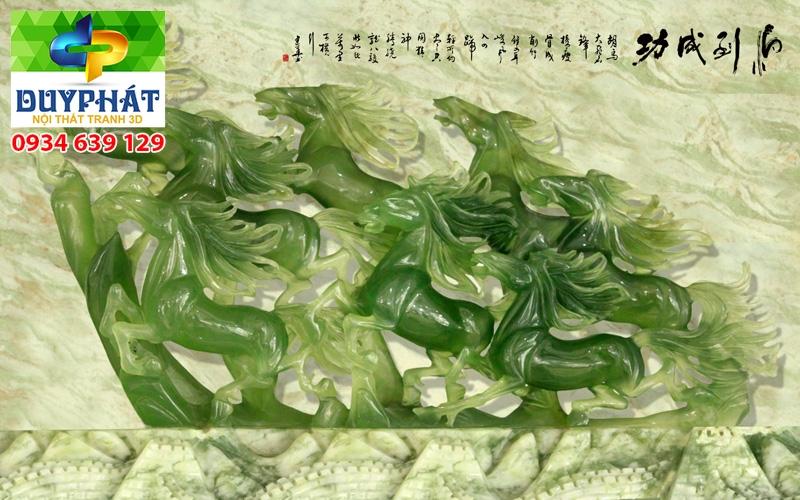 Tranh mã đáo thành công TMĐTC263 của tranh 3D Duy Phát
