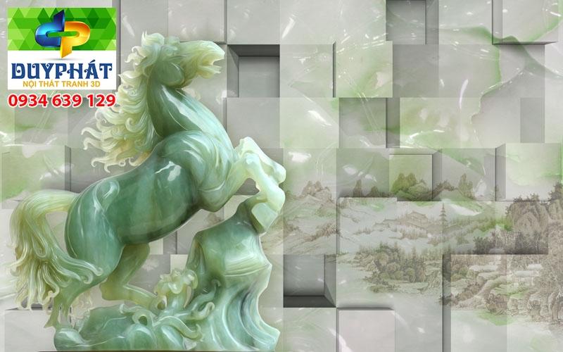 Tranh mã đáo thành công TMĐTC270 của tranh 3D Duy Phát