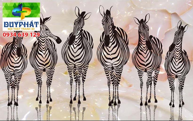 Tranh mã đáo thành công TMĐTC437 của tranh 3D Duy Phát