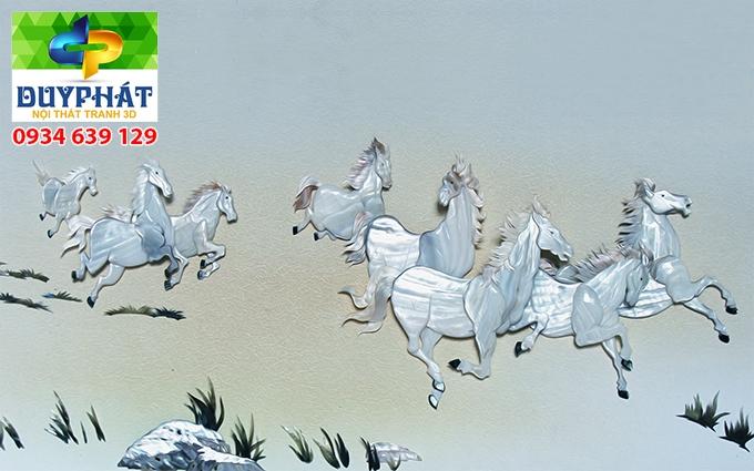 Tranh mã đáo thành công TMĐTC480 của tranh 3D Duy Phát