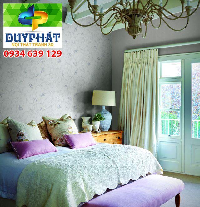 giay dan tuong 3 - Cách chọn giấy dán tường cho phòng ngủ vợ chồng thêm lãng mạng