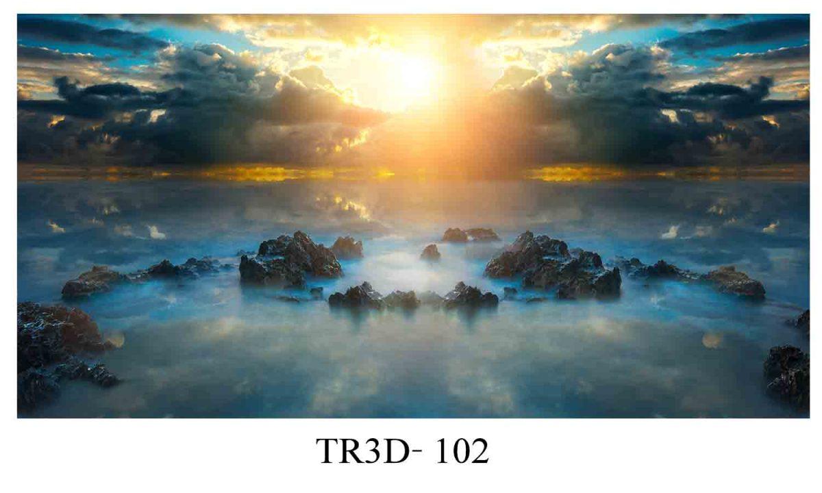 tranh 3d hồ cá 5 1200x720 - Ý nghĩa tài lộc phong thủy của tranh 3d hồ cá
