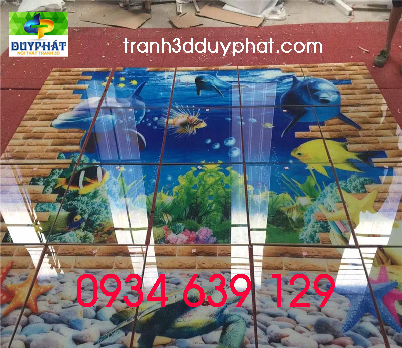tranh gạch 2 - Chọn tranh gạch trang trí cho từng không gian sống