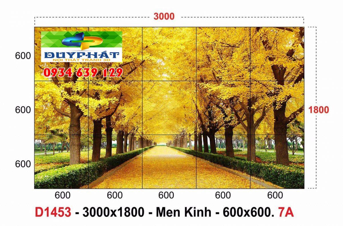 tranh gach 1 1200x791 - Tranh gạch 3D giúp tạo điểm nhấn cho căn phòng