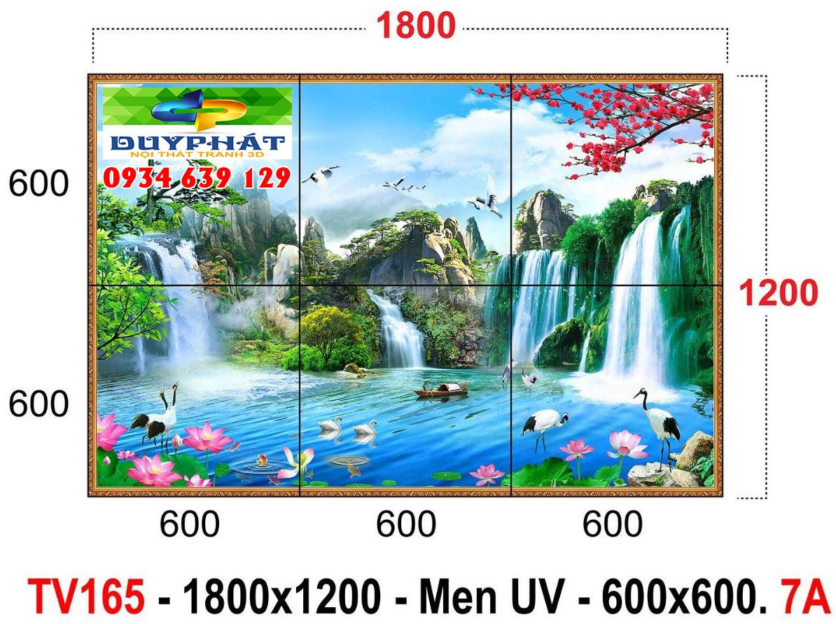 tranh gach 3 - Lựa chọn tranh gạch 3D trang trí hợp với gia chủ mệnh Thủy
