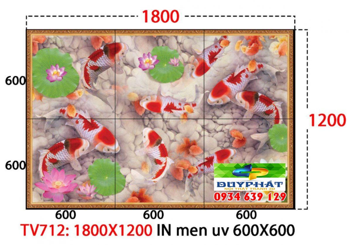 tranh kinh 1 1 1200x836 - Trang trí phòng bếp siêu đẹp nhờ tranh kính