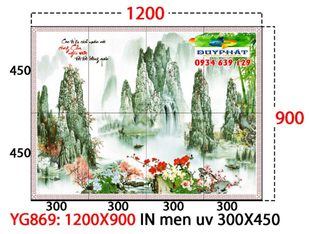 tranh kinh 1 2 1190x900 - Sức hút của tranh gạch dành cho việc trang trí phòng khách